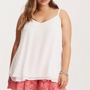 BNWT double layered swing cami